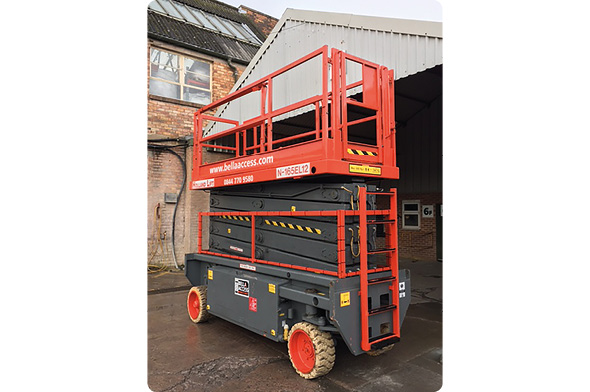 16E Electric Scissor Lift from Bella Access