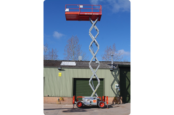 6826 Diesel Scissors Lifts from Bella Access