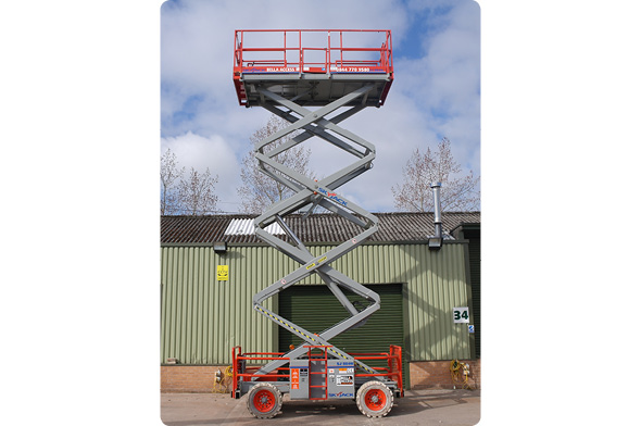 The 8841E Electric Scissor Lift from Bella Access