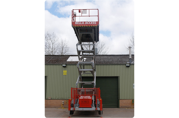 9250 Diesel Scissor Lifts from Bella Access