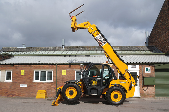 TH125 Telehandler from Bella Access
