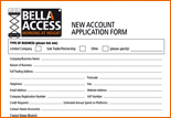Bella Access Account Application Form